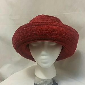 Chico's Chenille Velour Hat
